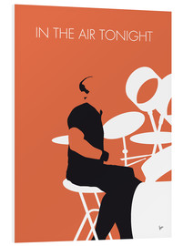 Foam board print  Phil Collins - In The Air Tonight - chungkong