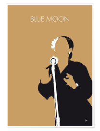 Premium poster Billie Holiday - Blue Moon