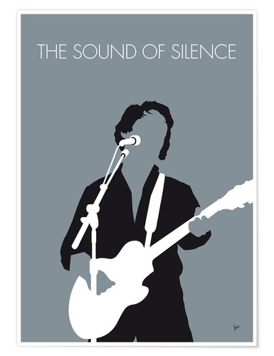Premium poster Paul Simon - The Sound Of Silence
