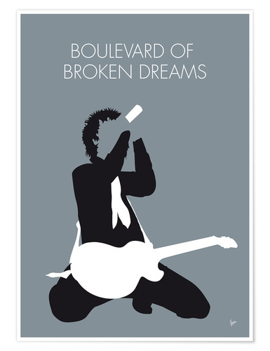 Premium poster Green Day - Boulevard Of Broken Dreams