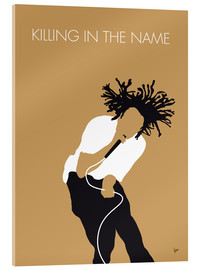 Acrylic print  Rage Against the Machine, Killing in the Name - chungkong