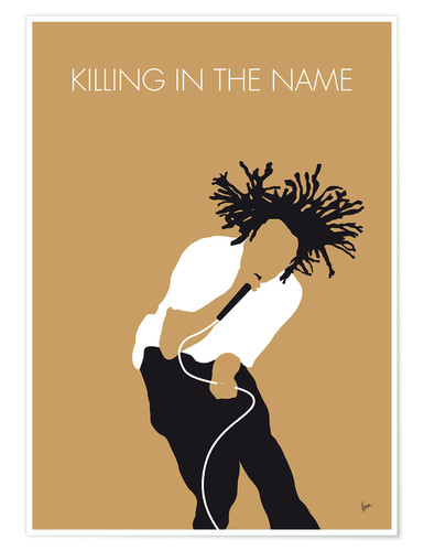 Premium poster Rage Against the Machine, Killing in the Name