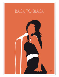 Premium poster  Amy Winehouse - Back To Black - chungkong