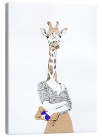Canvas print  Fashion giraffe - Wadim Petunin