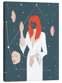 Canvas print  Florence and the Machine - Wadim Petunin