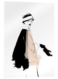 Acrylic print  Fashion illustration 1920s - Wadim Petunin