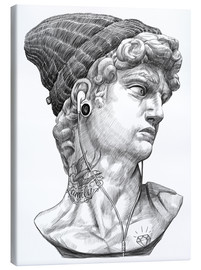 Canvas print  David Michelangelo - Nikita Korenkov