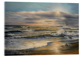 Acrylic glass  Sunset on Sunday - Ludmilla Gittel