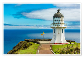 Premium poster Cape Reinga New Zealand