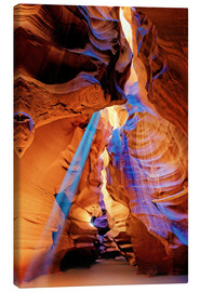 Canvas print  Upper Antelope Canyon Beam - Michael Rucker