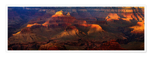 Premium poster Grand Canyon insight