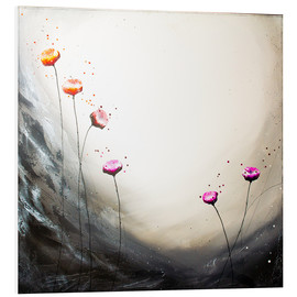 Foam board print  Flowering Section - Yannick Leniger