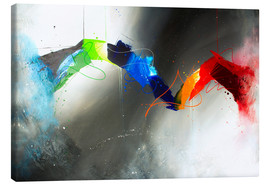 Canvas print  Colorful lines - Yannick Leniger