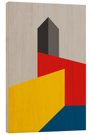 Wood  BAUHAUS TOWER - THE USUAL DESIGNERS