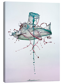 Canvas print  Water drops - mess - Stephan Geist