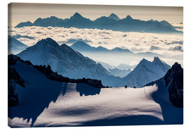 Canvas print  Alps - France - Mikolaj Gospodarek
