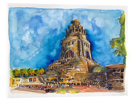 Acrylic print  Leipzig Memorial to the Battle of Nations - Hartmut Buse