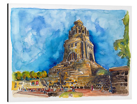 Aluminium print  Leipzig Memorial to the Battle of Nations - Hartmut Buse