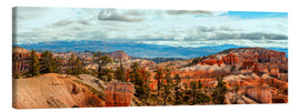 Canvas print  Bryce Canyon Panorama - Marcus Sielaff