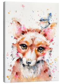Canvas print  Little Fox - Sillier Than Sally