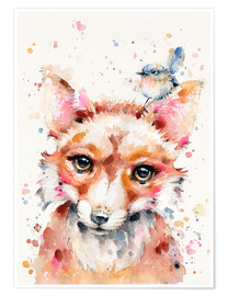 Premium poster Little Fox