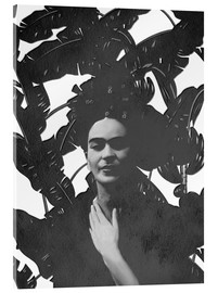 Acrylic glass  Frida black and white - Mandy Reinmuth