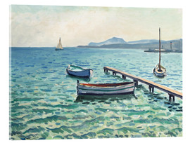 Acrylic print  Breeze on the porch - Albert Marquet