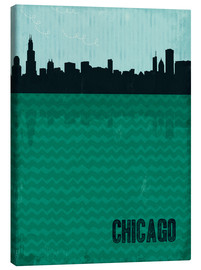 Canvas print  Chicago - Sybille Sterk