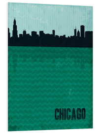 Foam board print  Chicago - Sybille Sterk