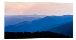 Acrylic print  Sunrise at Schauinsland in the Black Forest - Dieterich Fotografie