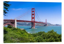 Jan Christopher Becke - Golden Gate Bridge in San Francisco, California, USA