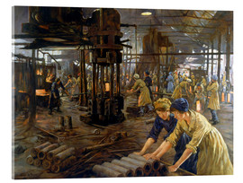 Acrylic print  The Munitions Girls - Stanhope Alexander Forbes