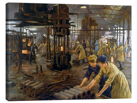 Canvas print  The Munitions Girls - Stanhope Alexander Forbes