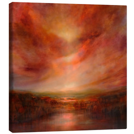 Canvas print  evening glow - Annette Schmucker
