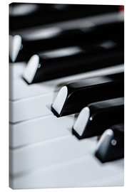 Canvas print  piano
