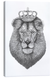 Canvas print  The King - Valeriya Korenkova