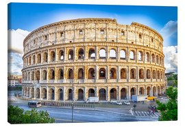 Canvas  Colosseum - Flavian Amphitheater