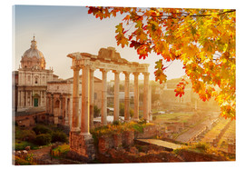 Acrylic print  Roman ruins in the sunlight