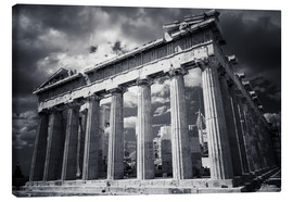 Canvas print  Parthenon - Acropolis in Athens