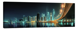 Canvas print  Panoramic view - Dubai Business Bay