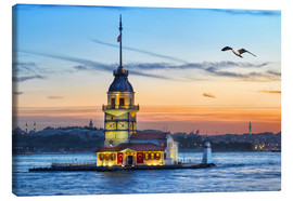 Canvas print  Maiden's Tower on the Bosphorus