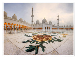 Poster  Place of the Sheikh Zayed Grand Mosque