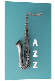Saxophone on color II