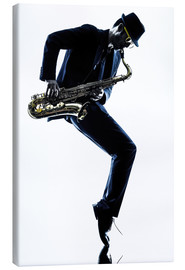 Canvas print  Jazz saxophone