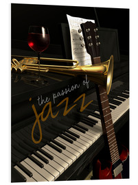 Foam board print  passion of Jazz - colosseum