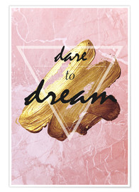 Premium poster Dare to Dream