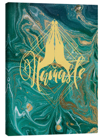Canvas print  Namasté - Mandy Reinmuth