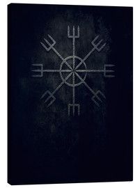 Canvas  Runes:  Ginnir, divine and demonical - Sybille Sterk