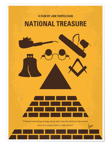 Premium poster National Treasure