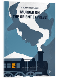 Acrylic print  Murder on the orient express - chungkong
